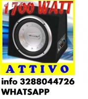 Subwoofer attivo bass box 1700watt