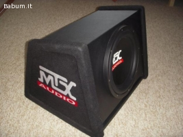 Subwoofer in cassa MTX RT12AV 30 cm