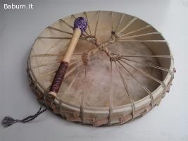 Tamburo sciamanico accordabile