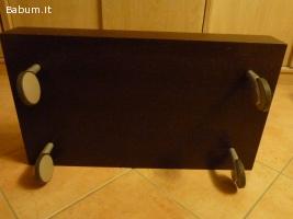 Tavolino artigianale design ciliegi
