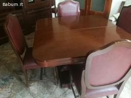 Tavolo sala in legno