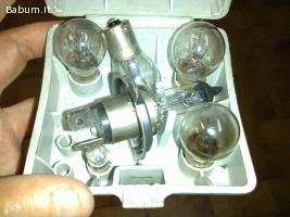 Trousse porta lampade di ricambio