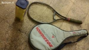 Vedo racchette e palle tennis