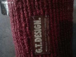 Vendo tappeto rosso rubino
