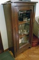 vetrina in legno
