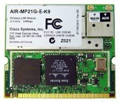 Wireless AIR-MP21G-E-K9 (mini-pci)